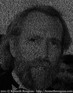 Wow! This is made with Jims own quotes....:.Jim Henson  11x14 Typographical Portrait Fine Art by artfamilia, $15.00