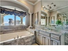 Absolutely Stunning Home for Sale at 4719 Ocean Blvd, Destin, FL 32541 Commercial Real Estate, Luxury Real Estate, Corner Bathtub, Absolutely Stunning, Ocean, Homes, Houses, Corner Tub, Home