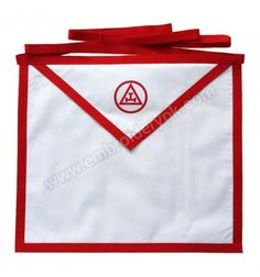Holy Royal Arch White Cotton Duck Cloth Member Masonic Apron Printed Aprons, White Cotton, Holi, Arch, Printed, Clothes, Outfits, Holi Celebration, Outfit Posts