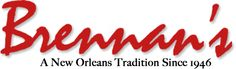 Brennan's  Ya can't go to New Orleans without stopping by this world famous place!!  Bring your appetite!