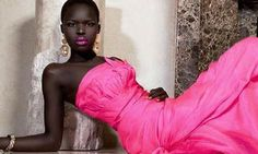 Trend for slim fashion models only skin deep in Ghana | World news ...