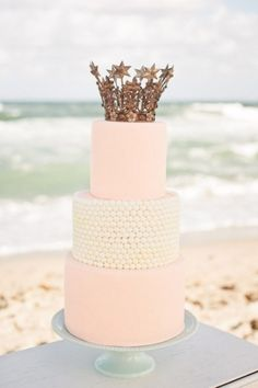 Wedding Trend – Crown Cake Toppers.. For Princess Wedding!