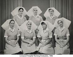 ☤ MD ☞☆☆☆ Liverpool Hospital Nursing Graduates, 1962.