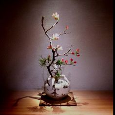 Ikebana is Japanese Flower Art.