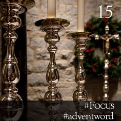 #AdventWord #Focus || Our minds are full and our hearts are heavy, weighing us down on the one hand and distracting us on the other. But there is another way to live. We can stop wishing our lives away and live in this moment that God has given us.Br. James Koester || @SSJEWord: We hope that you will post prayerful images with the #adventword hashtag on Twitter, Facebook and Instagram to create a Global Advent Calendar. Check out www.aco.org/adventword.cfm & see what others are posting. Epiphany, Communion, Beautiful Images, Advent Calendar, Candle Holders, Candles, In This Moment, Create, Words