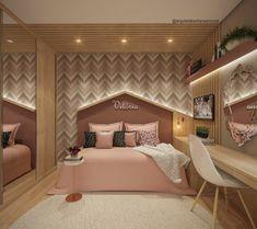 Pretty Bedroom, Dream Bedroom, Girls Bedroom, Baby Bedroom, Bedroom Decor, Kids Bedroom Designs, Kids Room Design, Baby Room Furniture, Single Bedroom