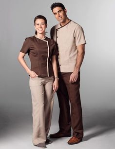 From front desk to valet our hotel, hospitality, housekeeping, maid uniforms make your property look great. Looking for new ideas? Salon Uniform, Spa Uniform, Hotel Uniform, Maid Uniform, Men In Uniform, Uniform Ideas, Security Uniforms, Staff Uniforms, Medical Uniforms