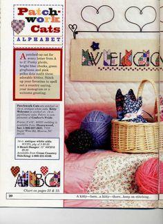 Patchwork Cats Alphabet - Spring 1997