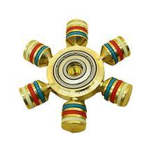 Hand Spinner Hand Fidget Spinner Toy, Bester® Roulement en Laiton Cuivre Fidget Spinner Cube EDC Jouet, Poignée et Conception de Dessus de…