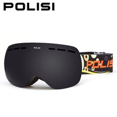 7cf2195a8af POLISI Children Kids Double Layer Anti-Fog Gray Lens Snow Skiing Goggles UV  Protection Anti-Fog Ski Glasses Snowboard Eyewear
