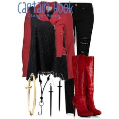 """""""Captain Hook"""" by disney-bound on Polyvore"""