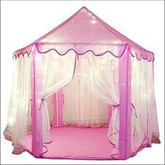 5984077e859ca9 Cabane enfant maison pour fille   CHATEAU DE PRINCESSE   jardin ou intérieur    Tente de Jeu jouet Pop Up rose   Cabane de jardin   Pinterest   Tentes de  jeu ...