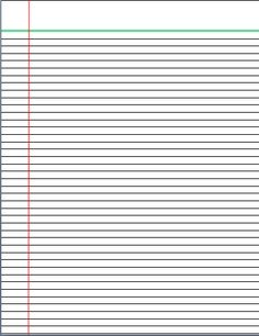 4 Lines Writing Template | Lined Paper | Pinterest | Writing paper ...