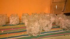 Kynttilätuikkuja merisuolasta