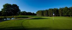 Play 18 on one of two northern Michigan championship golf courses at Crystal Mountain, Michigan.