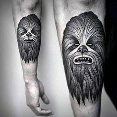 30 Chewbacca Tattoo Designs For Men