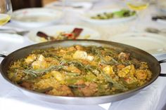 El Corralot Organic Farm, Valencia, Paella with Rosemary. We have a traditional 'Paellero' to make real paella http://www.organicholidays.co.uk/at/3328.htm