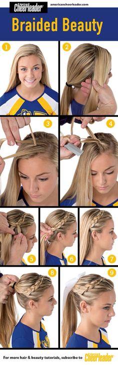Cheerleader ❤️ braids