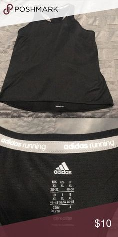 Adidas running tank Brand new without tags. Size XL adidas Tops Tank Tops