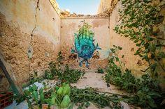 Alexis Diaz (Puerto Rico) #streetart #erriadh #djerba #tunisia #spray