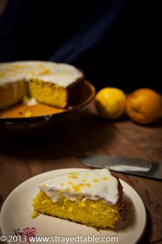 Orange Turmeric Cake