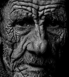 About life - Yuri Bonder What an amazing face.