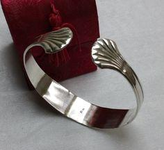 Nostalgischer Armreif Silberbesteck  90er AB250 von Atelier Regina auf DaWanda.com