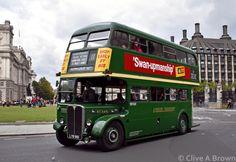 Rt Bus, Double Decker Bus, Bus Coach, London Bus, London Transport, Bus Station, Busses, Great Britain, Motor Car