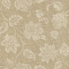 Lush florals dot the Kenneth James Sorrento Jacobean Wallpaper for a refined appearance. This non-woven wallpaper is offered in select color options,. Cream Wallpaper, Wallpaper Panels, Wallpaper Samples, Home Wallpaper, Textured Wallpaper, Pattern Wallpaper, Brewster Wallpaper, Wallpaper Warehouse, Cool Walls