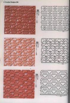 SOLO PUNTOS: Crochet calados