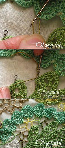 Secrets of Irish lace (master class). Irish Crochet Patterns, Crochet Lace Edging, Crochet Motifs, Freeform Crochet, Thread Crochet, Crochet Trim, Crochet Flowers, Free Crochet, Knit Crochet
