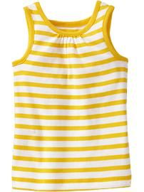 Yellow Striped Tank- Old Navy, buy 2 or more, $5 each