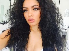 beauty, fashion, and curly hair image