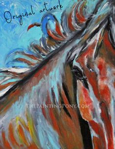 Cowgirl Style, Abstract Canvas, Equestrian, Pony, Horses, Painting, Art, Pony Horse, Art Background