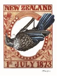 Discover Me : NZ Stamp Collection - Limited edition prints by Angie Dennis NZ Stamp Collection, 2009 (Limited edition print) Inspired by the beautiful New Zealand stamps of old, the Stamp Collection is a blend of simple, structu. Postage Stamp Design, Postage Stamps, Bird Graphic, Maori Designs, World Birds, New Zealand Art, Rare Stamps, Maori Art, Kiwiana