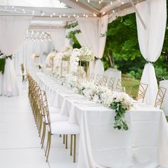 Real wedding seated dinner inspiration Outdoor Wedding Seating, Luxury Wedding, Real Weddings, Pin Up, Wedding Ideas, Table Decorations, Dinner, Photography, Inspiration