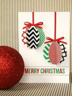 Новогодние открытки - Поделки с детьми | Деткиподелки