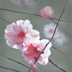 """""""Aglow"""" painting by contemporary artist Helen White, see more at www.paintinglight.org"""