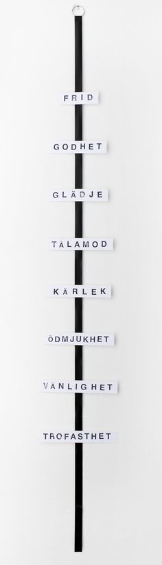 Utrotningshotade ord - SB Studio #nordicdesigncollective #utrotningshotadeord #sbstudio #endangeredwords #peace #kindness #happiness #patience #love #humility #kindness #goodness #faithfulness #gladje #godhet #talamod #karlek #frid #odmjukhet #vanlighet #trofasthet