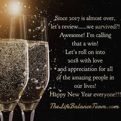 Wishing everyone a happy and healthy #newyear #newyearseve #newyear2018 #partytime #festive #newstart #resolutions #freshstart #family #friends #love