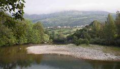 Coto de Monejo, en el río #Deva-Cares.