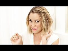 Lauren Conrad on How to Perfect a Beachy Side-Braid | Byrdie.com