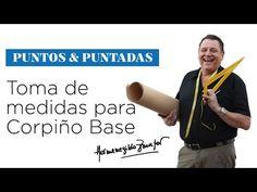 Hermenegildo Zampar - Puntos y Puntadas Capítulo 2 - Corpiño Base - YouTube
