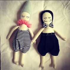 In Love (studio escargot dolls from Lil' Beans)