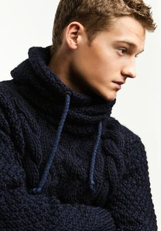 boys jumper. Big knits on boys is lush - makes me want to bury myself in a hug
