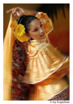 Mexican folkloric dancer. Ajijic, Mexico