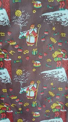 Sinterklaas pakpapier