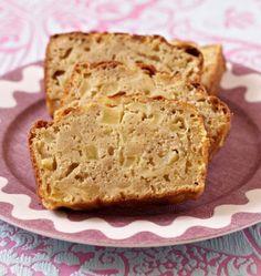 Photo de la recette : Cake aux pommes et cannelle