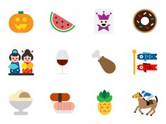 The emoji redesign project on Behance