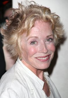 "Holland Taylor (b. 1943) recently finished run on Broadway in one-woman play ""Ann"" for which she received a Tony Nomination. Popular as the mother on ""Two and a Half Men"" TV show."